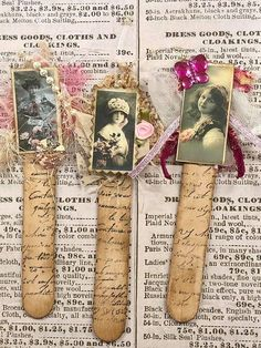 Most current Pics junk journal Embellishments Tips Crocheting minor forms can be a sensible way to produce your customized add-ons – brooches as well as pins, Handmade Tags, Handmade Books, Handmade Journals, Handmade Crafts, Book Crafts, Paper Crafts, Altered Book Art, Book Markers, Vintage Crafts