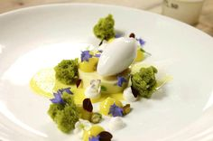 Lemon, Pistachio and Greek Yogurt.... by Pastry Chef Antonio Bachour, via Flickr