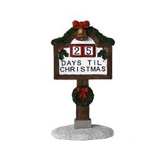 St. Nicholas Square Village Collection Countdown to Christmas