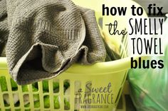 A Sweet Fragrance: The Smelly Towel Solution