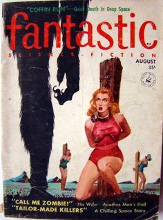 Fantastic Science Fiction pulp sci-fi magazine