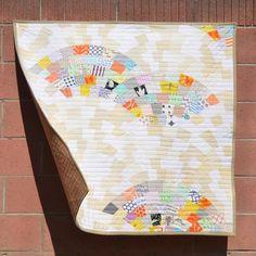 """Molehills"" Quilt Pattern by Latifah Saafir. PDF Digital Download for $12."