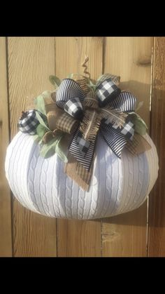 Dollar Tree Pumpkins, Dollar Tree Decor, Dollar Tree Crafts, Burlap Pumpkins, Fabric Pumpkins, Fall Pumpkins, Autumn Crafts, Thanksgiving Crafts, Holiday Crafts