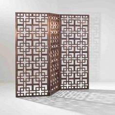 Decorative Wood Screen Kits in WalnutBirch Various Sizes Hanging