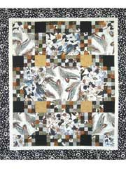 Pieced Bed Quilt Patterns - Limelight Quilt Pattern