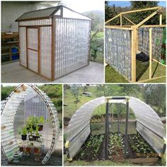 Here's the link to the tutorial >> How to Build Plastic Bottle Greenhouse << by Ana White…