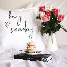 Hey Sunday. 💕  Home Interior Rosen Sunday Cozy Planner Kalender