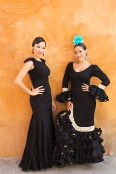 Professional Flamenco dancers performing in Seville. Flamenco Dancers, Rich Image, Music Licensing, Seville, Photo Library, Royalty Free Photos, Peplum Dress, Spain, Stock Photos