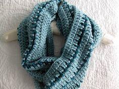 Striped Crochet Cowl pattern on Craftsy.com
