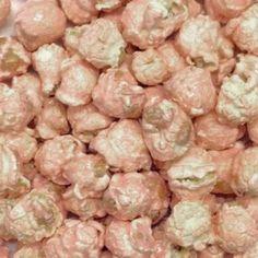 HR Poppin' Snacks Pink Lemonade Popcorn - Made in USA - Made in Nebraska - Nebraska popcorn - Produced in Gibbon, Nebraska Wine Flavors, Pop Corn, Gourmet Popcorn, Pink Lemonade, Sugar Free, Snacks, Nebraska, Breakfast, Fresh