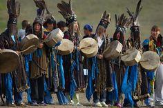 Shamans in Mongolia