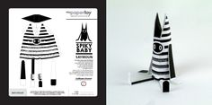 Guillaume Druvent's bOOk: Paper Toys