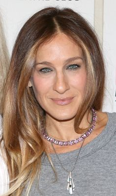 "Sarah Jessica Parker at the ""The Commons Of Pensacola"" Off Broadway Cast Photo Call. Makeup by Jake Bailey. Hair by Andy Lecompte."