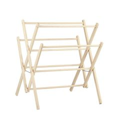 Amish Clothes Drying Rack