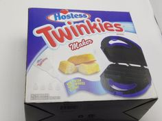 Hostess Twinkie Maker Bake Your Own Twinkie Baking Machine & Recipes  Booklet #HOSTESS
