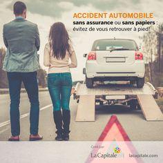 Au Québec, la Loi sur l'assurance automobile oblige tout propriétaire de véhicule routier — auto, moto et autres — à détenir une assurance responsabilité civile. Plus encore, lorsque vous conduisez un véhicule, vous devez toujours avoir une preuve d'assurance en votre possession. Vous avez un accident automobile sans assurance ou sans papiers? Vous pourriez vous retrouver à pied…