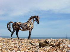 Driftwood Horses (artist Heather Jansch)