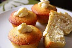 lemon chia seed muffin