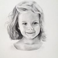 charcoal portrait by Emily Morgan Brown