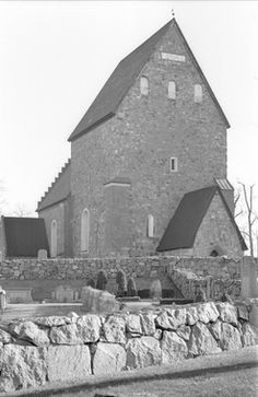 DigitaltMuseum - Gamla Uppsala kyrka, Gamla Uppsala, Gamla Uppsala socken…