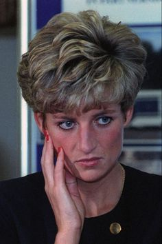 Diana in Mourning for her father