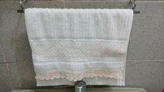 Mais detalhes do porta toalhas de rosto 😍💕