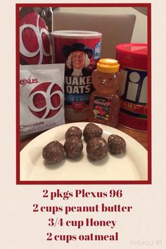Healthy snack using Plexus 96. They are yummy!!! http://shopmyplexus.com/hcsmith/products/plexus-96.html (Ambassador #406213)