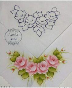 pintura da Ivanice ideal para canto de toalha
