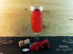 Receita granizado de champanhe com morangos por analuisateles - Categoria da receita Bebidas