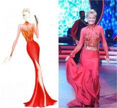 Xuxa usa sensual e exclusivo vestido na estreia de 'Dancing Brasil'