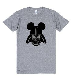 Darth Vader with Mickey ears