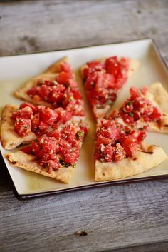 Simple Homemade Bruschetta: Bridal Shower and Party Food