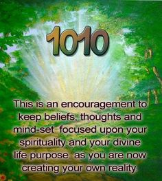 Angel Number 1010 tells you that you will find personal success and fulfilment in your endeavours.