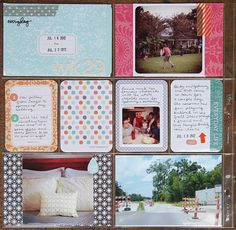 deb duty {photography + scrapbooking}: project life-washi tape & instagrams