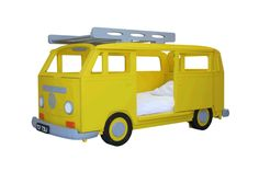 VW Camper Van Bay Theme Single bed by Fun Furniture Collection, Home of Themed Childrens Beds,Toy Boxes and Storage