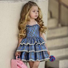 Baby Girl Dress Fashion Kids Clothes Europe and the American Baby Dresses Girl Princess Dress Children Birthday Dress Baby Girl Party Dresses, Dresses Kids Girl, Baby Dress, Cute Dresses, Best Summer Dresses, Girls Summer Outfits, Kids Outfits, Summer Clothes, Clothes 2019