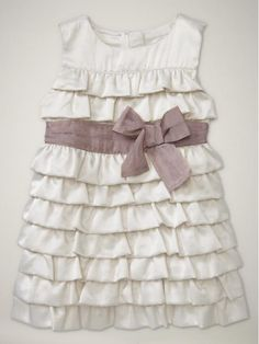 """ruffle dress, i need this for chloe in purple with a red sash to match her """"Fancy Fancy"""" (Fancy Nancy)"""