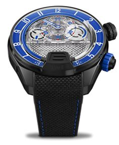 Discover the watch, the new HYT creation that represents the new generation of its skeleton watches. Visit the official HYT website to learn more. Mens Skeleton Watch, Skeleton Watches, Four Eyes, Opposites Attract, Black Rubber, Inventions, Smart Watch, Blue, Accessories