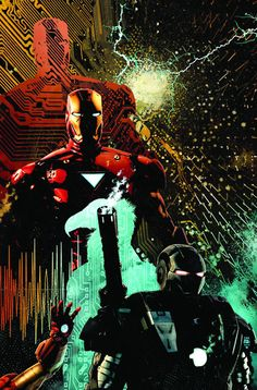 Iron Man by Tim Bradstreet
