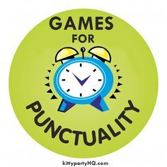PUNCTUALITY GAMES FOR KITTY PARTY