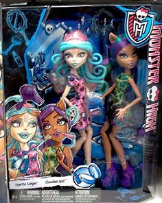 Monster High Scare and Make-Up Two Pack Featuring Viperine Gorgon and Clawdeen Wolf Dolls Monster High http://www.amazon.com/dp/B00ZT64NXK/ref=cm_sw_r_pi_dp_Z21Mvb1XENQ0H