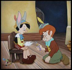 Bad Friends  Profanity Pop: 25 Disney Characters Behaving Badly • BoredBug