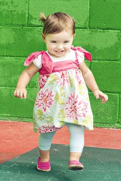 Little Girls Dress Tutorial via Sewing in No Mans Land