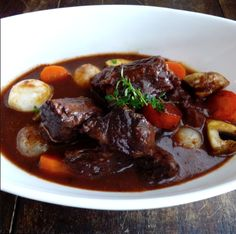This is a delicious (and easier!) alternative to the often complicated beouf bourguignon. If you're looking to spend a little less time in the kitchen, but don't want to suffer the culinary consequ...