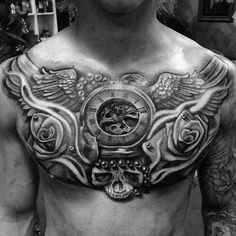 9 Best Chest Placement Ideas Images Men Tattoos Sleeve Tattoos