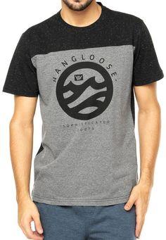 Camiseta Hang Loose Cinza - Compre Agora  fcd083191ee2b