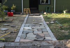 Fresh Ideas To Use Flagstone Pavers For Ground Covers: Cool Remade Of  Flagstone Pavers For