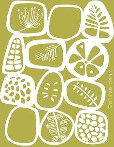olive pods - fine art print by olivedear on Etsy