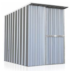 EasySHED Skillion Roof 1.5m x 1.5m Sgl Door Zinc FREE Ramp & Anchors | Cheap Sheds