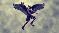 LeBron-James-Slam-Dunk-With-Wing-HD-Wallpaper.jpg 1.920×1.080 pixels